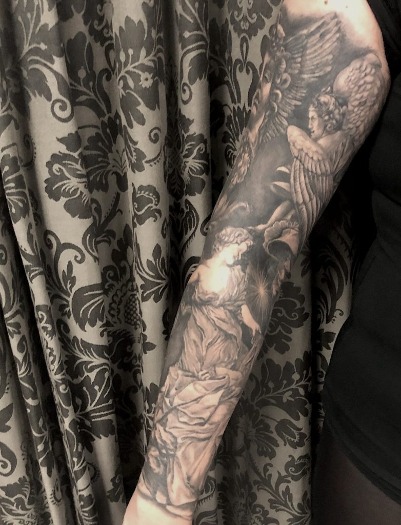 esculturas realistas tattoo