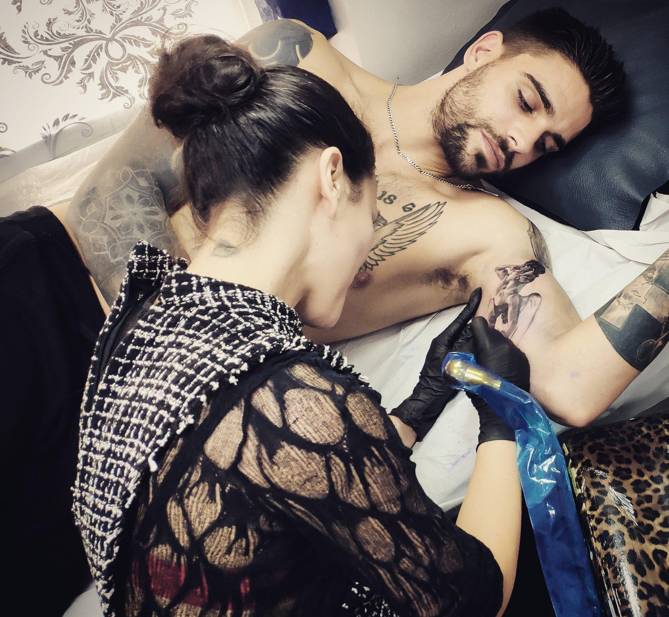 mejor tatuadora madrid