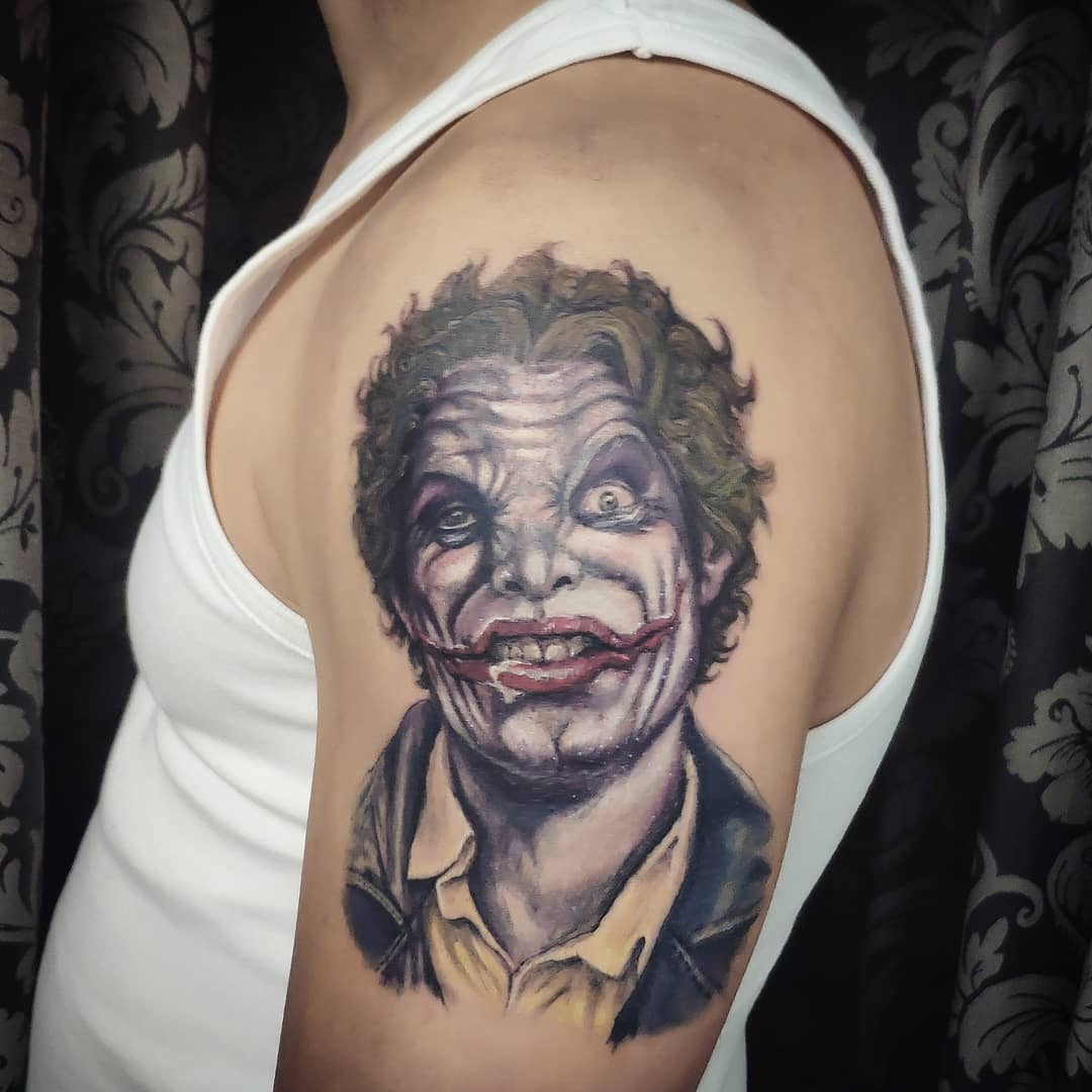 joker tattoo madrid