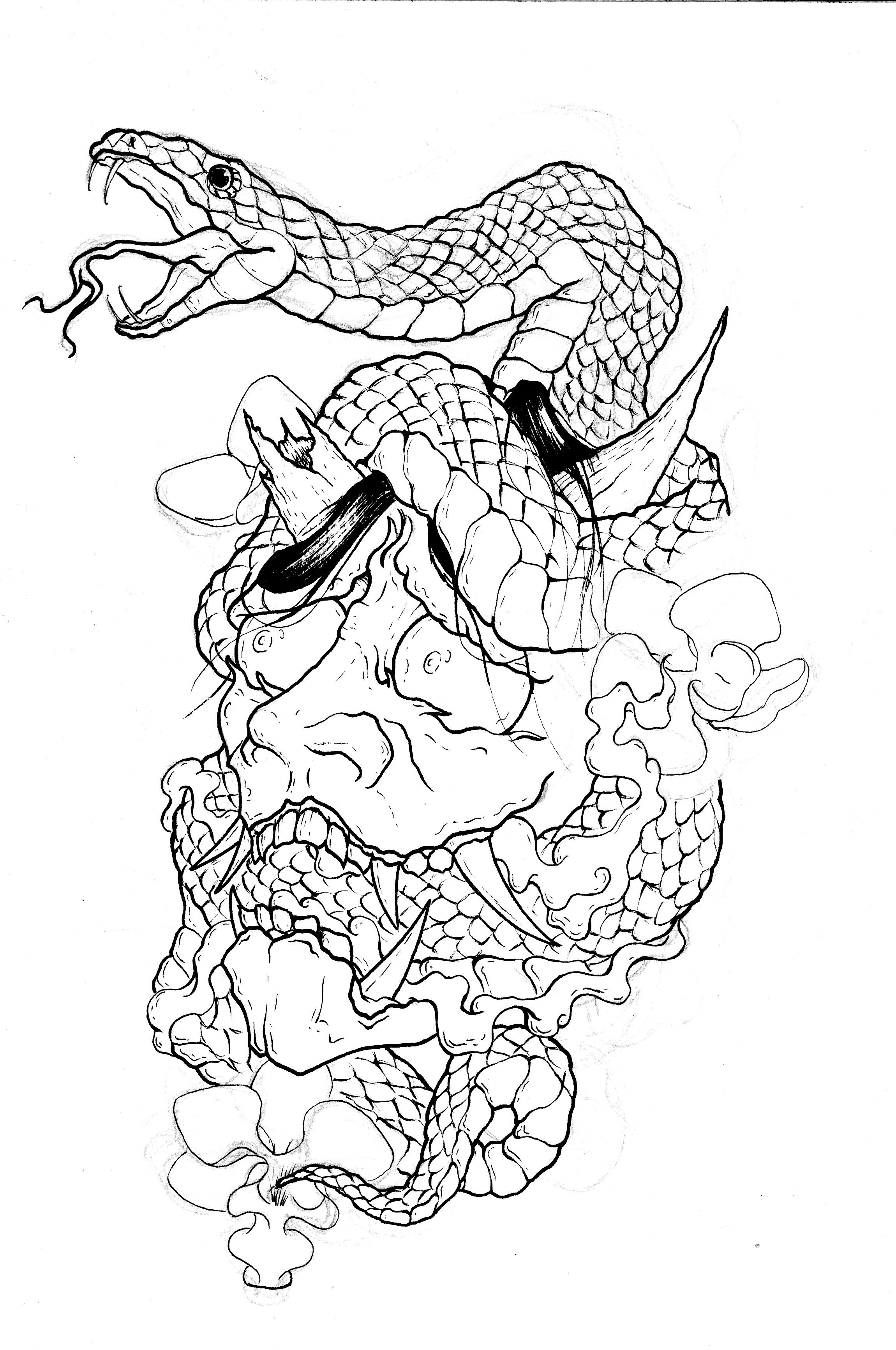 tatuaje japonés madrid