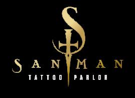 Sanman logo footer